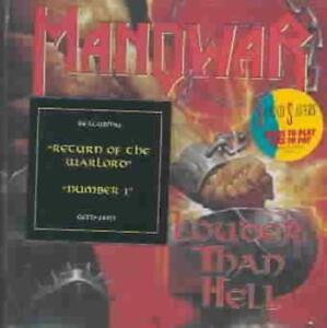 MANOWAR - LOUDER THAN HELL NEW CD