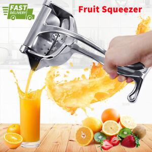 Manual Fruit Juicer Squeezer Tool Hand Press Fresh Orange Juice Lemon Grinders
