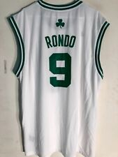 Adidas NBA Jersey Boston Celtics Rondo White sz 2X
