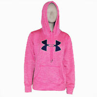 Under Armour Pink  Hooded Sweatshirt Women's Small