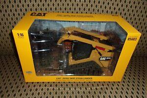 1/16 Diecast Masters Caterpillar 297D2 Skid Steer Loader ERTL Diecast 85603 CAT