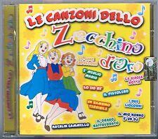 LE CANZONI DELLO ZECCHINO D'ORO COVER VERSION CD  F.C. COME NUOVO!!!