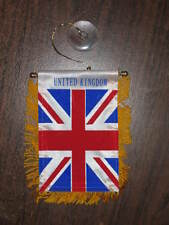 "GREAT BRITAIN FLAG MINI BANNER 4""x6"" UNION JACK NEW"