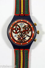 SWATCH original Swiss made CHRONO SCN116 quartz watch New old stock