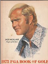 1973 Pga Book Of Golf-Jack Nicklaus Cover