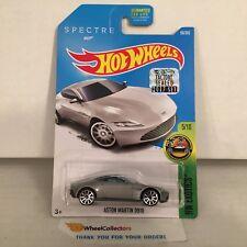 Aston Martin Db10 #96 Bond * Silver * 2017 Hot Wheels Factory Set * Hf3