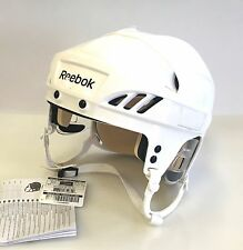 New Reebok 4K NHL/AHL Pro Stock/Return white size large L ice hockey helmet