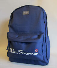 Ben Sherman US Sports School Bag Gym College Navy Core Sac à dos Small New