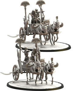 Second Dynasty Chariot, Lost Kingdom, Tomb Kings, 9th Age, AOS, WFB