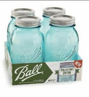 Mason Jars Ball Collectors Edition Quart 4 pc. 32oz — Canning, Projects, & More!