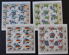 Football Sheet Grenadian Stamps (Pre-1974)