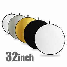 "80CM 32"" 5-in-1 Photography Studio Collapsible Multi Disc Photo Light Reflectors"