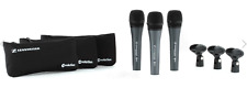 Like N E W Sennheiser e835 Dynamic Cardioid Vocal Mic 3 Pack Open Box Never Used