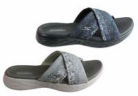 Skechers Womens On The Go 600 Monarch Comfortable Slide Sandals - ShopShoesAU