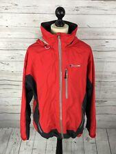 BERGHAUS GORE TEX Jacket - Size XL - RED - Fair Condition