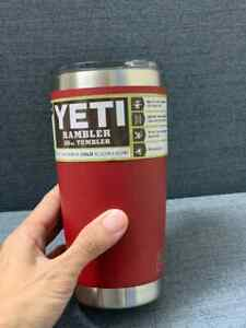 YETI 20 oz Rambler Tumbler with MagSlider Lid, Stainless Steel Vacuum Insulated