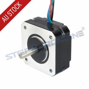 Short Body Nema 17 Stepper Motor Bipolar 1A 16Ncm 42x42x20mm 4-wire 17HS08-1004S