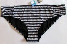 neuf taille 20 femmes bas de Bikini Hipsters NOIR MIX MARKS & SPENCER EU 48