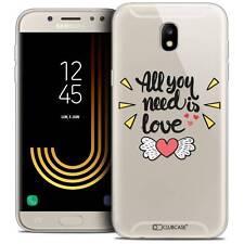 "Coque Crystal Gel Pour Samsung Galaxy J7 2017 J730 (5.5"") Extra Fine Souple Love"