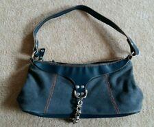 Esprit Jeans Tasche Handtasche klein blau - neuwertig