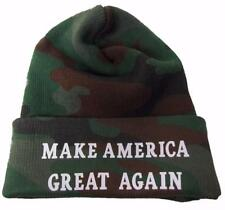 MAGA MAKE AMERICA GREAT AGAIN WINTER WOODLAND CAMO HAT beanie cap donald trump