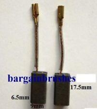 CARBON BRUSHES fits Bosch Rotak 43  34 arm Ergoflex lawn mower 6X9X17.5 mm D73