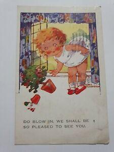 Vintage Humour Postcard - 1947 - Signed