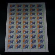 FEUILLE SHEET TIMBRE DE SERVICE EUROPE N°46 x50 NEUF ** LUXE MNH COTE 75€