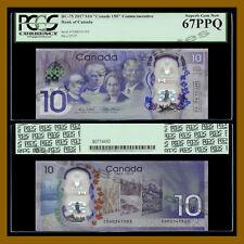 Canada 10 Dollars, 2017 P-New BC-75 (Canada 150 Commemorative) PCGS 67 PPQ