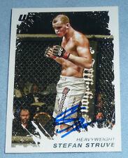 Stefan Struve Signed UFC 2011 Topps Moment of Truth Card #157 PSA/DNA COA Auto'd