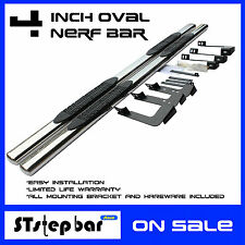"BLACK FRIDAY SALES 15-17  CHEVY COLORADO EXT CAB 4"" OVAL SIDE STEP RUNNING BORAD"