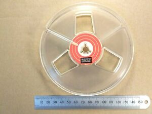 """125mm 5"""" Inch Reel-to-Reel Recording Empty Take Up Tape Spool BASF"""