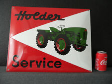 Holder Tractor - Emaille Emailschild Plaque Emaillee Porcelain Enamel Sign #204