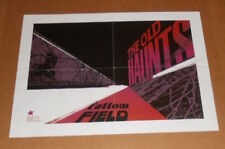 The Old Haunts Fallow Field Poster Original Promo 22x16 Swamp Rock Rare