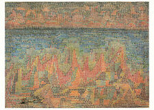 Postkarte: Paul Klee - Klippen am Meer