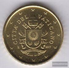 Vatican VAT 6 2017 Crest pape françois Stgl./unzirkuliert 2017 Kursmünze 50 cent