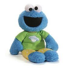 "Retired Gund - Sesame Street - 16"" Cookie Monster - Glow In The Dark Pajamas"