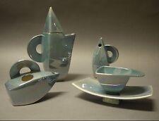 Planta de producción de las casas del páramo y Tinsley cerámica lustre Juego De Té De Estilo Art Deco
