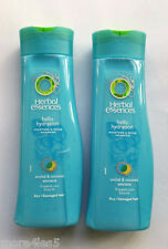 2x 200ml Herbal Essences Hello Hidratación Champú orquídea & Coco Cabello Dañado