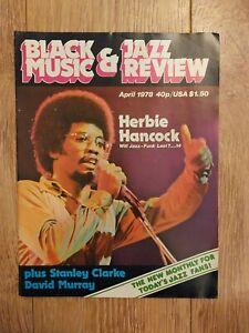 BLACK MUSIC & JAZZ REVIEW ~ APRIL 1978 VOL 1 ISS 1 HERBIE HANCOCK MILLIE JACKSON