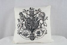 Nobility Cotton Decorative Down Filled Pillow - 18 x 18 - 95% Feather 5% Down
