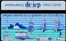 Telefoonkaart / Phonecard Nederland RCZ210 ongebruikt - De Iep Vakantie