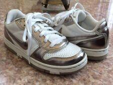 Nike Air Low-Top Men's Prestige Platinum White Athletic Shoes Size 7 #313325-103
