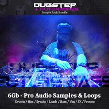 Dubstep & FutureBass - Huge 6Gb, Loops, Drums, Synth, Bass, Sample Pack Bundle