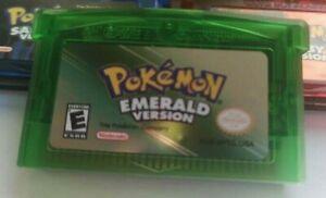Pokemon Emerald Gameboy Advance GBA UK Seller