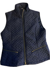 New listing PRI Vest Quilted Equestrian Full Zip Navy Blue Women's (Small)
