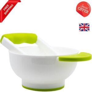 NUK Baby Food Masher and Bowl Dishwasher Safe BPA Free- Free Postage