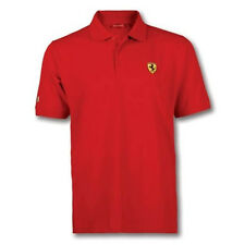 Ferrari Big Scudetto / New Shield Polo size RED Small