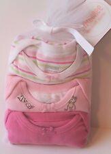 Gymboree Set of 3 Pink Short Sleeve One-Piece Bodysuits Baby Girl 6-12 Months