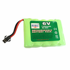 1 pcs 6V 1300mAh Ni-MH Rechargeable Battery Cell Pack Toy RC